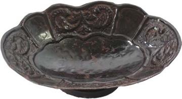 Bild von Seifenschale oval, braun