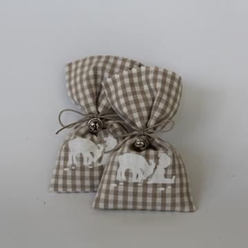 Bild von Lavendelsäckchen mit Glöckchen