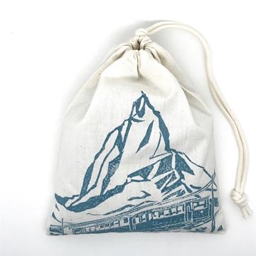 Bild von Bio-Bergkräuter-Beutel, Matterhorn Blau